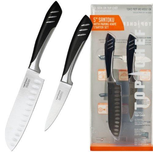 Usa Wholesaler - 80-Tc02 - Top Chefâ® Santoku & Paring Knife Set - 2 Pieces