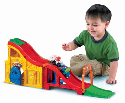 Fisher Price Cars  Race Track
