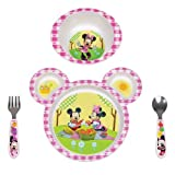 The First Years Disney Minnie Mouse 4 pc Feeding Set-1 ea