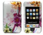 Importer520 Mixed Funky Flower Design Crystal Hard Skin Case Cover for Apple Ipod Touch 2nd and 3rd Generation 8gb 16gb 32gb 64gb