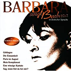 Barbara Singt Barbara In Deutscher Sprache