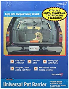 Universal Wire Vehicle Barrier from Kennel-Aire