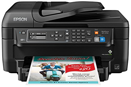 Epson WF-2750 All-in-One Wireless Color Printer with Scanner, Copier & Fax (Epson Laser Color Printer compare prices)