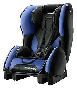 Recaro 61352121266 - Silla de coche Microfibra Saphir, Grupo ECE 1 (color negro/azul) de Recaro - BebeHogar.com