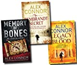Alex Connor Alex Connor Collection 3 Books Set (Legacy of Blood, Memory of Bones and The Rembrandt Secret)