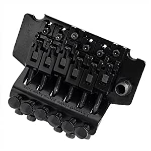 1pkg Floyd Rose Lic Ibanez Edge Style Double Tremolo System Black Guitar Parts