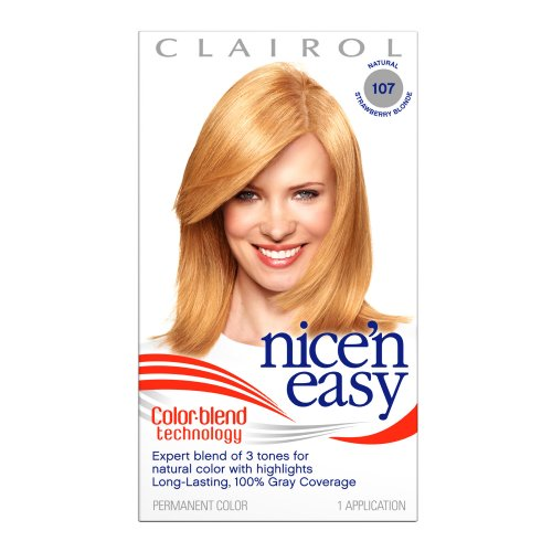 Nice 'n Easy Color, 107 Natural Strawberry Blonde (Pack of 3