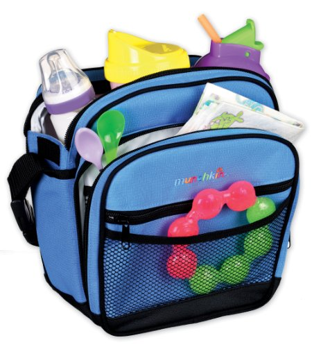 Munchkin Baby On-the-Go Bag, Colors May Vary