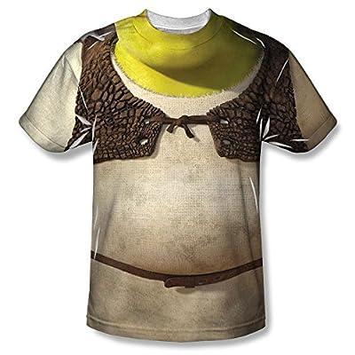 Shrek Costume All Over Print Front T-Shirt