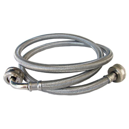 lasco 16 1814 4 foot washing machine hose with elbow home garden household appliance accessories. Black Bedroom Furniture Sets. Home Design Ideas