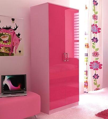 Ottowa - Armario de dormitorio, color: rosa (OTT2WDPKP)