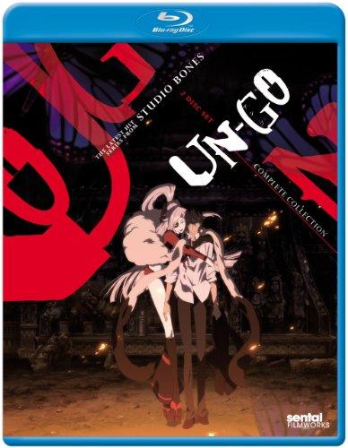 【BD】UN-GO コンプリートコレクション (ブルーレイ北米版) 全11話収録 (日本語音声可)