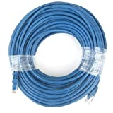 RiteAV - Cat5e Network Ethernet Cable - Blue - 100 ft. [Office Product]