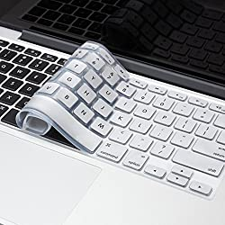 Spider Designs - Grey Keyboard Cover Silicone Skin for MacBook Pro 15