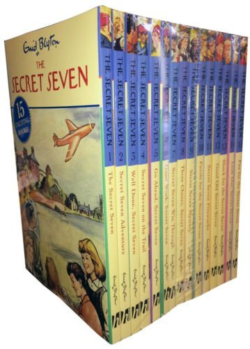 secret-seven-7-library-15-book-box-set-enid-blyton-fun-for-look-out-puzzle-for-fireworks-shock-for-g