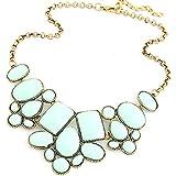 Bocideal 1PC Zauberhafte Frauen Resin Blase Anhänger Halsband Kette Halskette Erklärung