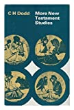 More New Testament Studies (0719003334) by Dodd, C.H.