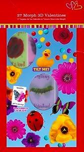 3D Morph Lenticular Valentine Cards for Kids
