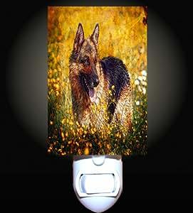 German Shepherd Decorative Night Light Home