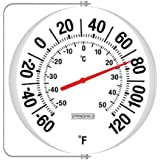 Springfield Big and Bold Thermometer with Mounting Bracket (5.25-Inch)