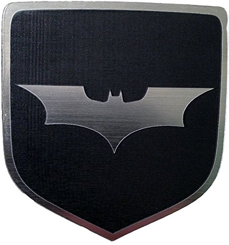 2007 Dodge Charger Steering Wheel Emblem Badge Dark Knight Batman Black (Dodge Emblem For Steering Wheel compare prices)