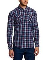 Hilfiger denim - albert - chemise casual - coupe cintrée - coton - homme