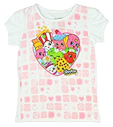 Shopkins Love to Shop White T-Shirt (Toddler 4)