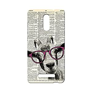 BLUEDIO Designer 3D Printed Back case cover for Xiaomi Redmi Note 3 / Redmi Note3 - G1986