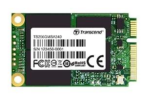 Transcend TS256GMSA340 interne SSD 256GB (6,4 cm (2,5 Zoll), mSATA III, MLC) schwarz