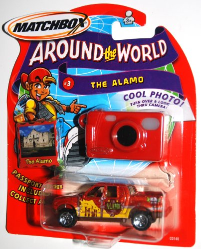 2003 Matchbox Around The World Collection # 03 The Alamo, Ford Explorer Sport Trac Vehicle (1 Each) - 1