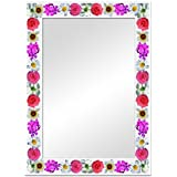 The Attic Mayfield Mirror Frame (Glossy Finish, Brown)