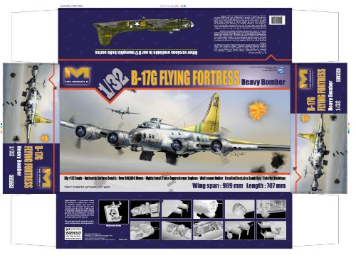 HK Models 1:32 B-17G Flying Fortress 01E04