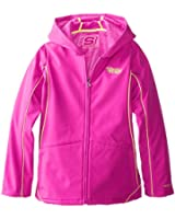 Twinkle Toes by Skechers Big Girls' Soft-Shell Jacket
