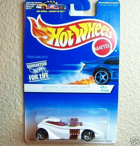 Hot Wheels White Ice Series #564 (#4 of 4) 1997