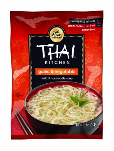 Thai Kitchen Garlic and Vegetable Instant Rice Noodle Soup, 1.6-Ounce (Pack of 72) (Microwave Fried Rice compare prices)