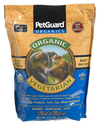 Vegetarian Dry Dog Food - 4.4-Pound Bag