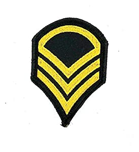 Patch ecusson brode thermocollant airsoft epaulette militaire armee rock punk