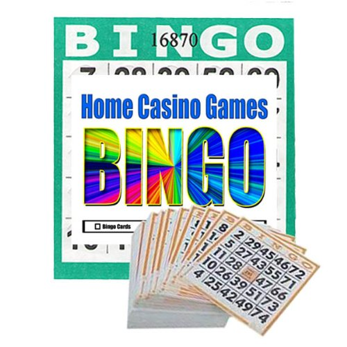 Punch out Bingo Cards 250 Per Pack Plus a Bonus Pack of 25 Free Cards Total 275 Cards