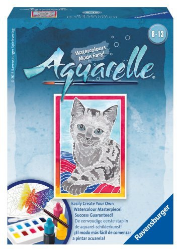Ravensburger Aquarelle Cat Arts and Crafts Kit