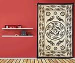 Lizard Tapestry Wall Hanging Beige Co...