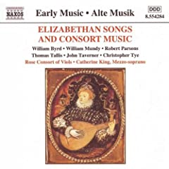 Elizabethan Songs & Consort Music