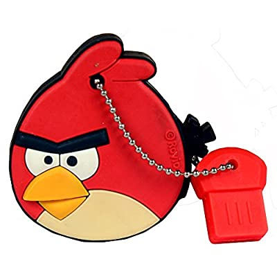 Pen Drive Red Angry Bird Cartoon Character Shape 16 GB USB 2.0 Pen Drive ZT14012
