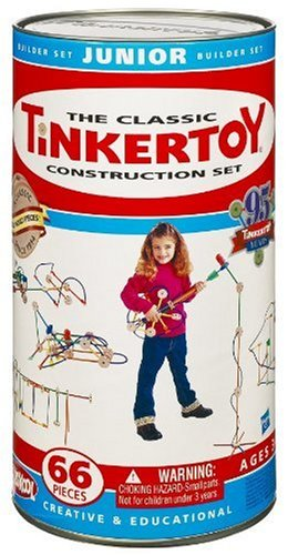 Tinkertoy Classic Construction Set: Junior Builder
