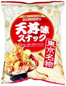 モントワール みんなのおやつ 天丼味スナック 55g×12袋