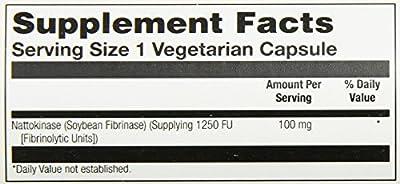 Solaray Nattokinase Supplement, 100 mg, 30 Count