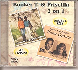 Booker T & Priscilla 2 on 1 Double Cd 27 Tracks Import