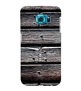 EPICCASE Woody Mobile Back Case Cover For Samsung Galaxy S6 Edge (Designer Case)