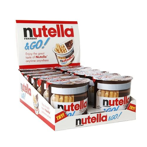 Nutella Nutella & Go! 12 ea(Pack of 1)