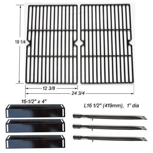 BBQ Grillware GGPL-2100 Replacement Grill Burners, Heat Plates, Grill Grates (Bullet Bbq Grill compare prices)