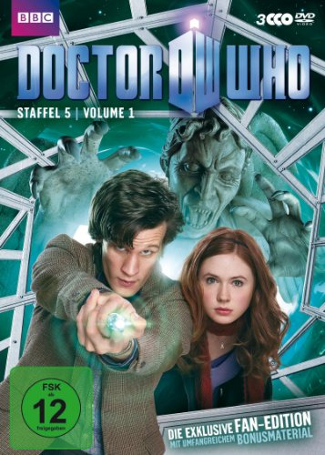 Doctor Who - Staffel 5, Volume 1 (Fan-Edition, 3 Discs)